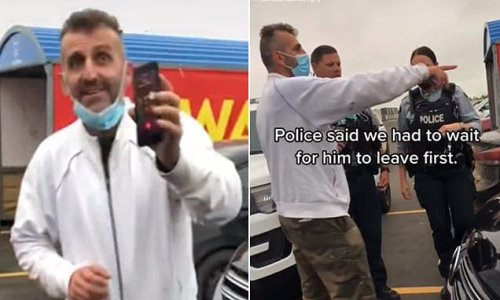 Moment 'racist' white man calls the cops on indigenous Canadian woman