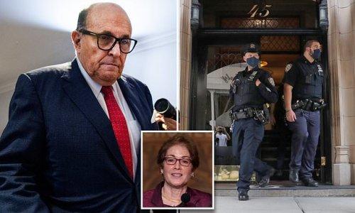 FBI probing if Rudy Giuliani broke law by getting US ambassador fired