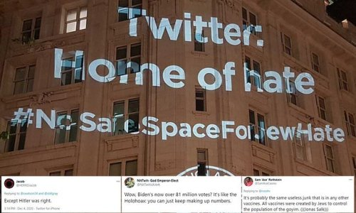 Anti-semitism charity says Twitter does not take issue seriously