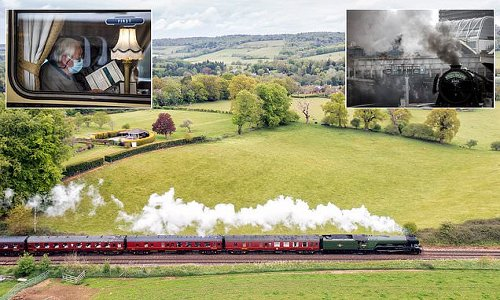 The Flying Scotsman takes to the rails for the first time in two years