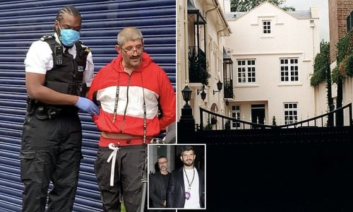 George Michaels' ex caught breaking into star's £5million London home