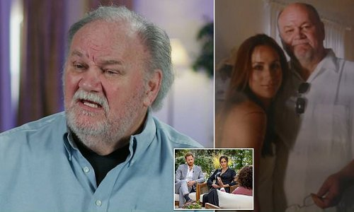 Thomas Markle breaks silence in explosive 60 Minutes interview