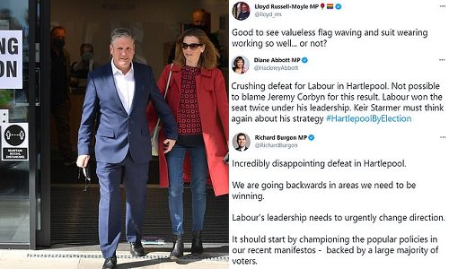 Labour left turn on Starmer after Super Thursday election results