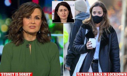 Lisa Wilkinson demands Sydney says SORRY to Victoria slams NSW Premier
