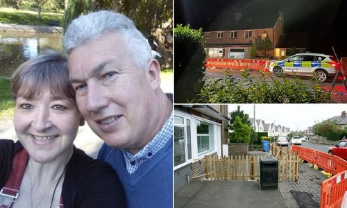 Air pistol man shoots at couple in row over 4ft fence