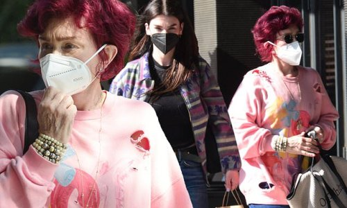 Sharon Osbourne and daughter Aimee spotted together in Beverly Hills