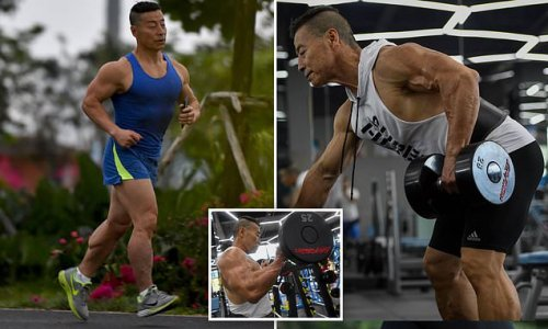 Chinese man works out every day for years - you won't believe his age