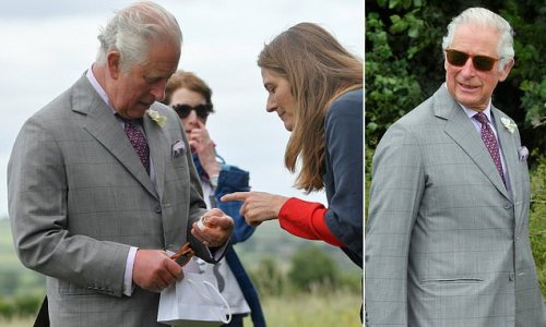 Prince Charles left chuckling after being gifted anti-wrinkle cream