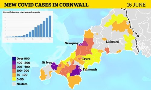 Cornwall health chief says G7 summit is NOT to blame for Covid cases