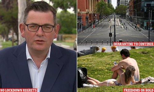 Defiant Dan Andrews has 'no regrets' about world's longest lockdown