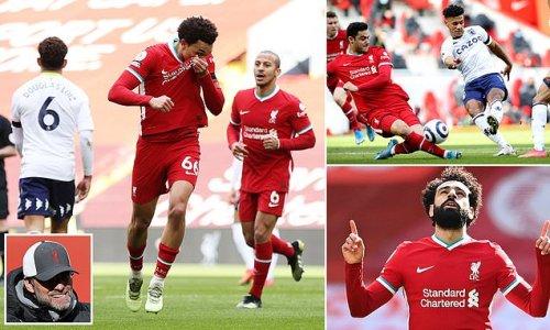 Liverpool 2-1 Aston Villa: Alexander-Arnold late stunner wins it
