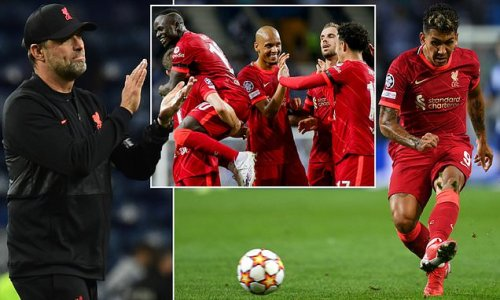 Klopp salutes 'wonderful' football from Liverpool in win over Porto