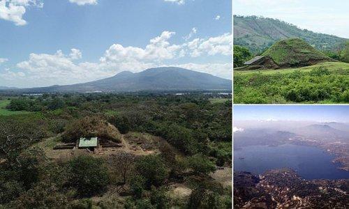 Maya pyramid in El Salvador built as guard against volcanic eruptions