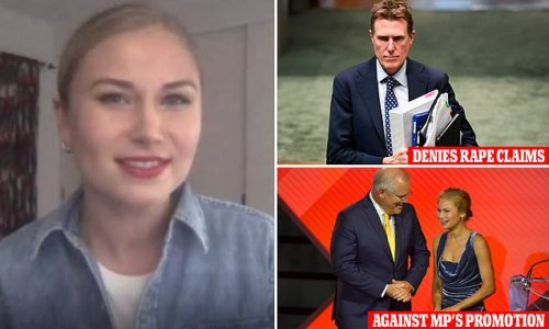 Australian of the Year Grace Tame slams Christian Porter leader role