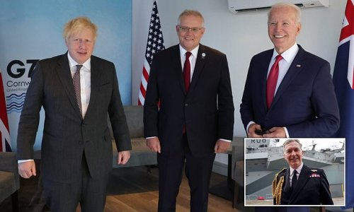 How just TEN people in Britain knew about AUKUS submarine deal