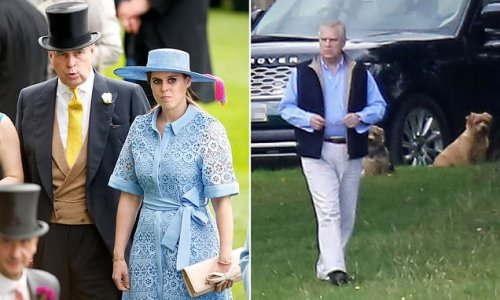 Andrew 'set to leave Balmoral to see pregnant Beatrice in hospital'