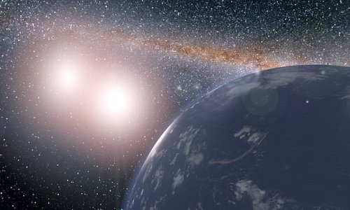 Kepler spots FIVE double-sun planets that 'could support alien life'