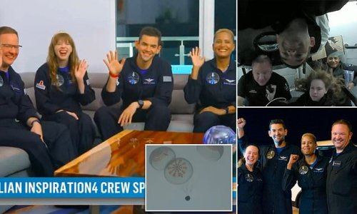 SpaceX's Inspiration4 crew details mission in first interview