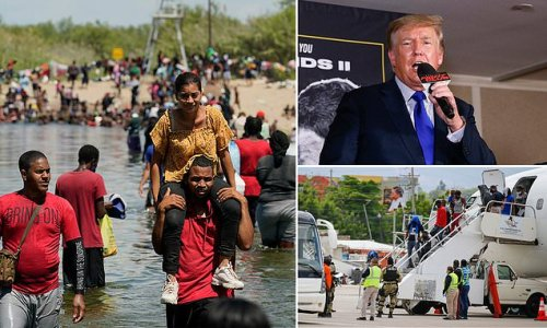 Trump said US is 'becoming a cesspool of humanity'