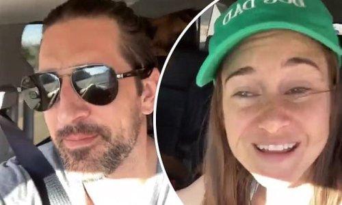 Shailene Woodley calls fiance Aaron Rodgers 'super sexy'
