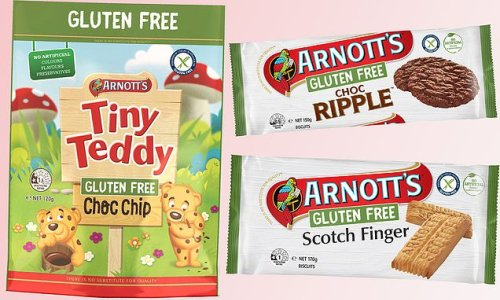 Shoppers can now enjoy gluten free Scotch Finger and Tiny Teddy