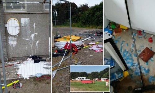 Travellers cause thousands of pounds damage to Cornish football club