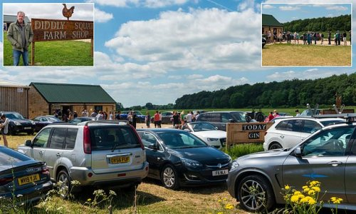 Jeremy Clarkson fans cause Cotswolds chaos at his Diddly Squat farm