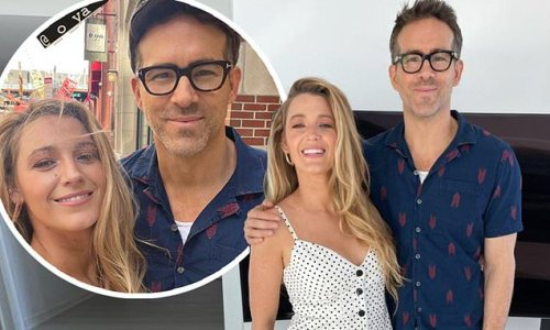 Ryan Reynolds and Blake Lively share sweet snaps during date