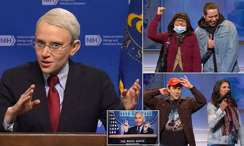 SNL mocks Dr Fauci and mask confusion over who still needs masks
