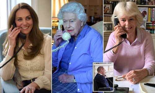 Why DO the royal family have such old fashioned phones?