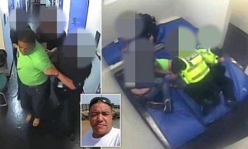 Black man beaten in police custody as jury says force was 'justified'
