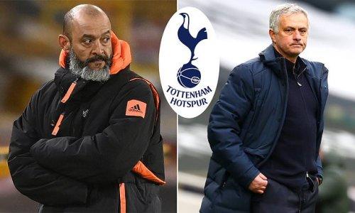 Tottenham 'monitoring Wolves coach Nuno Espirito Santo as next boss'