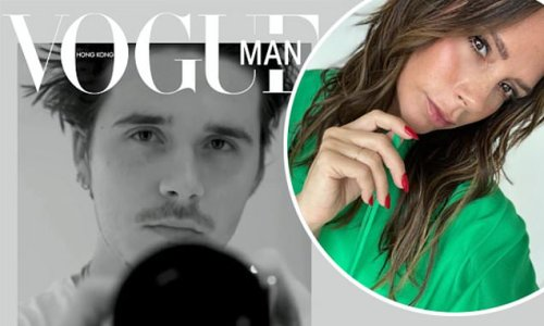 Victoria Beckham congratulates son Brooklyn for appearing on Vogue