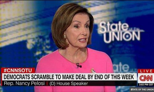 Pelosi says 90% of Biden's social spending plan is done
