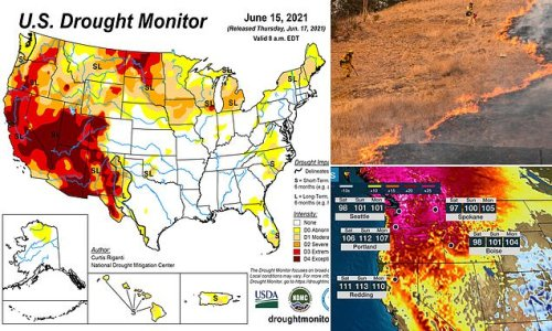 Record heat and drought in the US west could spell disaster