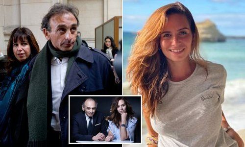 Married far-right French presidential hopeful, 63, embraces aide, 28