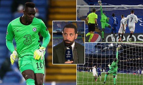 Rio Ferdinand hails 'majestic' Edouard Mendy after TWO Benzema stops