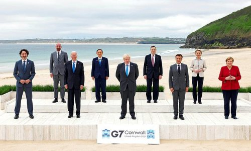 G7 leaders join forces to tackle China's growing hold over countries