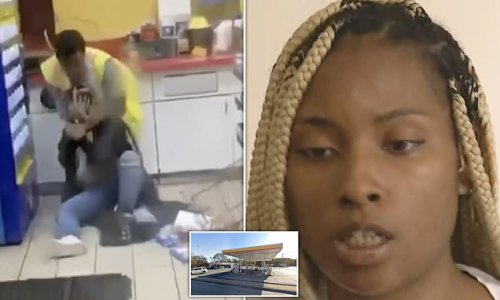 Woman needing to use toilet is BEATEN by Chicago gas station attendant