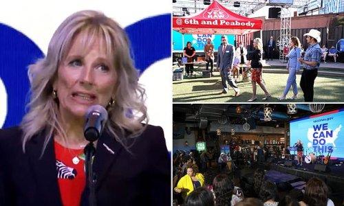 Nashville crowd BOOS after Jill Biden talks low vaccine rates