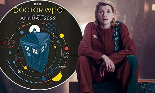 Doctor Who DROPS Jodie Whittaker from the cover of its 2022 annual