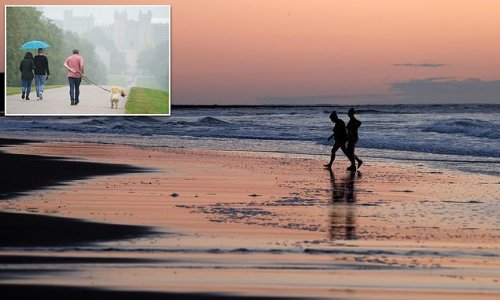 Britain will enjoy sunshine before 50mph winds and rain sweep in