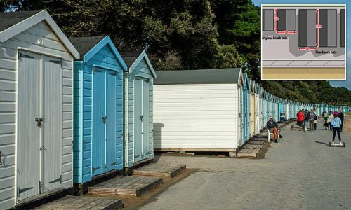 Planning probe launched after beach huts are controversially extended