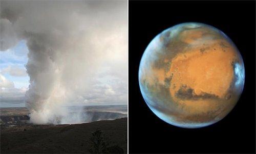 Ancient Mars had thousands of massive super volcanoes, NASA says