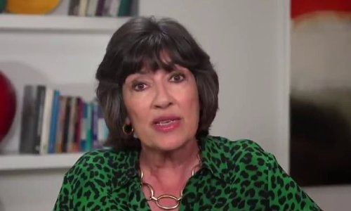 CNN's Christiane Amanpour diagnosed with ovarian cancer