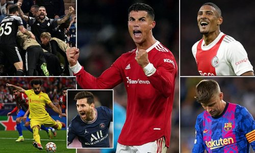 The standout moments of the Champions League group stage so far