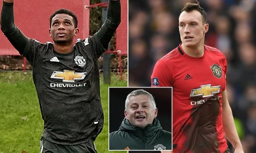 Man United add Phil Jones and Amad Diallo to Europa League squad