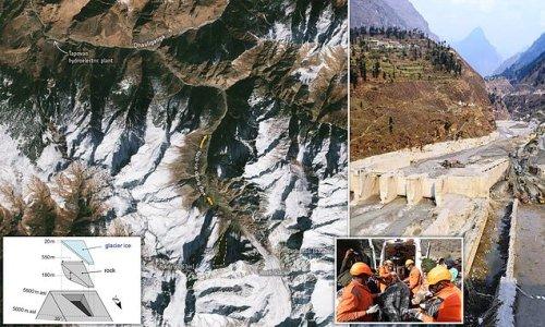 Satellites reveal cause of Chamoli glacier flood that left 200 dead