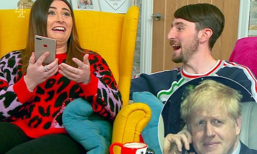 Gogglebox fans in stitches as Sophie and Pete ring Boris Johnson
