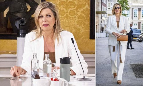Queen Maxima of the Netherlands attends Money Wise platform